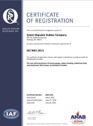 Download ISO 9001:2015 Certificate